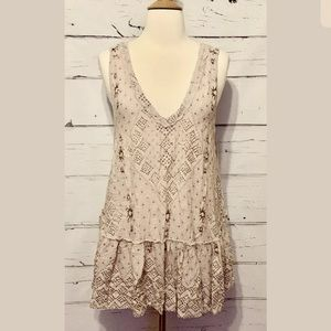 Free People Womens Size Large A Layer Tunic Top